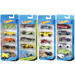 Coffret 5 voitures Hot Wheels