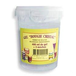 Base pour bougie cristal 400 ml