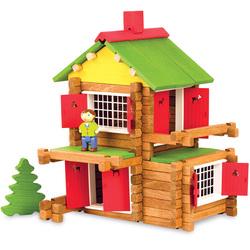 Maison forestière en bois 135 pièces
