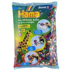 3000 Perles à repasser mélange