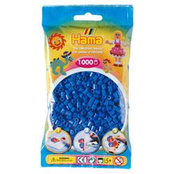 Sachet 1000 perles à repasser bleu foncé