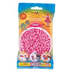 Sachet 1000 perles à repasser roses