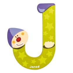 Lettre clown J