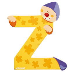 Lettre clown Z
