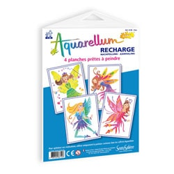 Recharge aquarellum junior fées