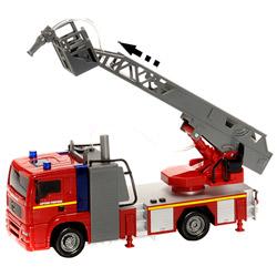 Camiion de pompier grande échelle