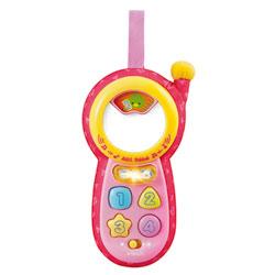 Téléphone Allo bébé rose