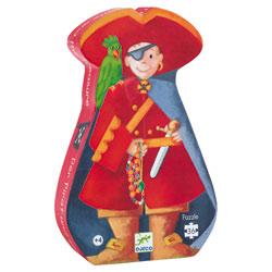 Puzzle le pirate et son trésor 36 pièces