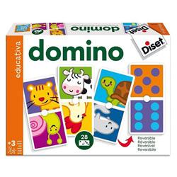 Dominos animaux et points