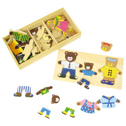 Puzzle bois pour les petits