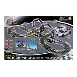 Circuit voiture 2 loopings