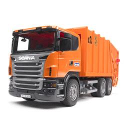 Camion poubelle Scania R-serie orange