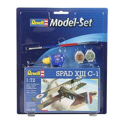 Maquette avion militaire SPAD XIII C-1