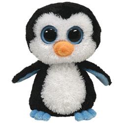 Peluche Ty Beanie Boos Juliet Pinguino Rosa Ty
