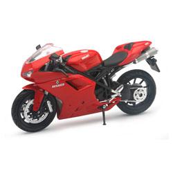 Moto Ducati 1198 miniature 1/12