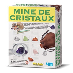 Mine de cristaux
