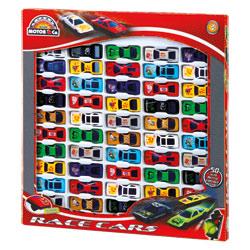 Coffret de 50 voitures de courses