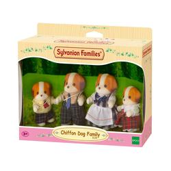 Famille chien chiffon Sylvanian
