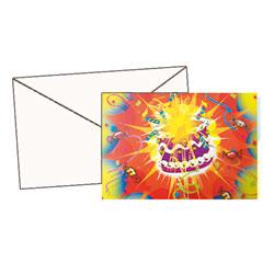 6 cartes d'invitations avec enveloppes
