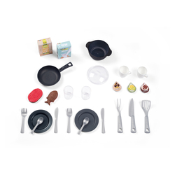 Cuisine cherry - jeu d'imitation - module electronique + 25 accessoires