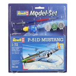 Maquette set Avion Mustang P51D