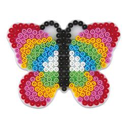 Plaque pour perles à repasser Midi papillon
