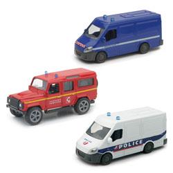 Miniature véhicule de secours