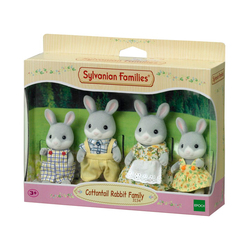 Sylvanian La Famille Lapin gris