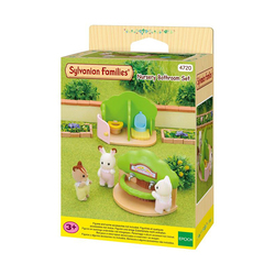 Sylvanian-Toilettes Lavabo Crèche