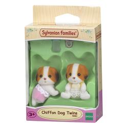 Set jumeaux chiens chiffon sylvanian