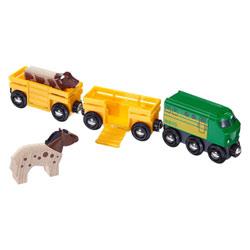 Brio 33404-Train des animaux de la ferme