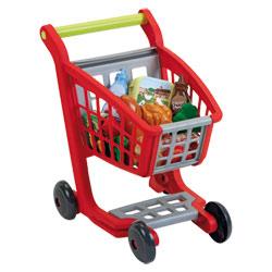 Chariot Supermarché Garni