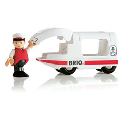 Brio 33508-Locomotive voyageur avec conducteur