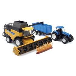 Coffret New Holland moissonneuse et tracteur