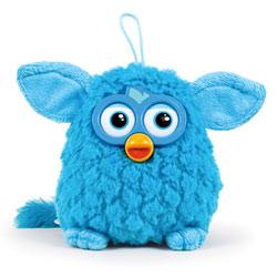 Peluche Furby 14cm Bleue