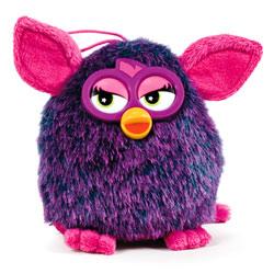 Peluche Furby 14cm Violette