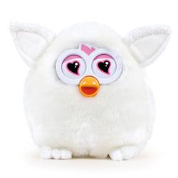 Peluche Furby 14cm Blanche