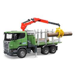 Camion Transport bois SCANIA R 560