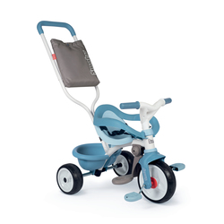 Tricycle be move confort - tricycle evolutif avec roues silencieuses - bleu