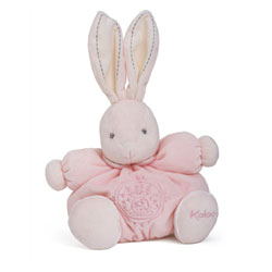 Perle - Patapouf lapin rose medium