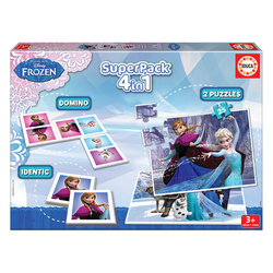 Coffret Superpack 4 en 1 La reine des neiges