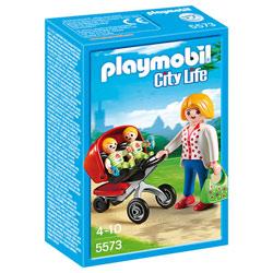 5573 - Maman avec jumeaux et landau - Playmobil City Life
