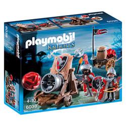 6038 - Chevaliers de l'Aigle avec canon géant - Playmobil Knights