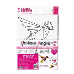 Kit plastique dingue colliers oiseaux