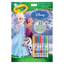 Album coloriage et activités La Reine des neiges