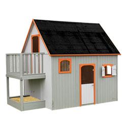 Maison bois Duplex