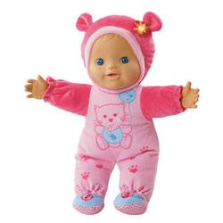 Poupon Mon bébé coucou-caché rose - Little Love