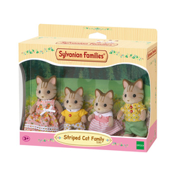 Famille Chat tigre Sylvanian