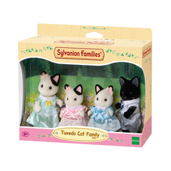 Famille chat Bicolores Sylvanian