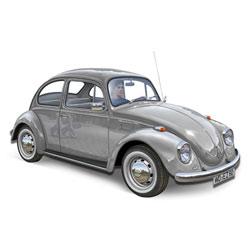 Maquette Volkswagen Beetle Limousine 1968